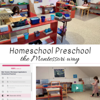 Homeschool Preschool The Montessori Way