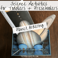 Science Activities for Toddlers and Preschoolers -- Planet Ordering