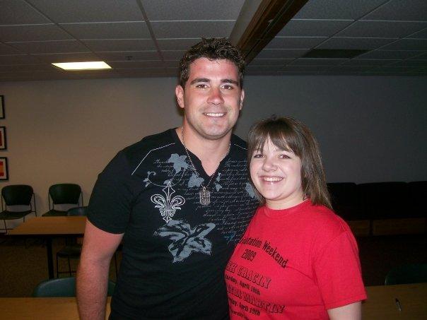Elise with Josh Gracin