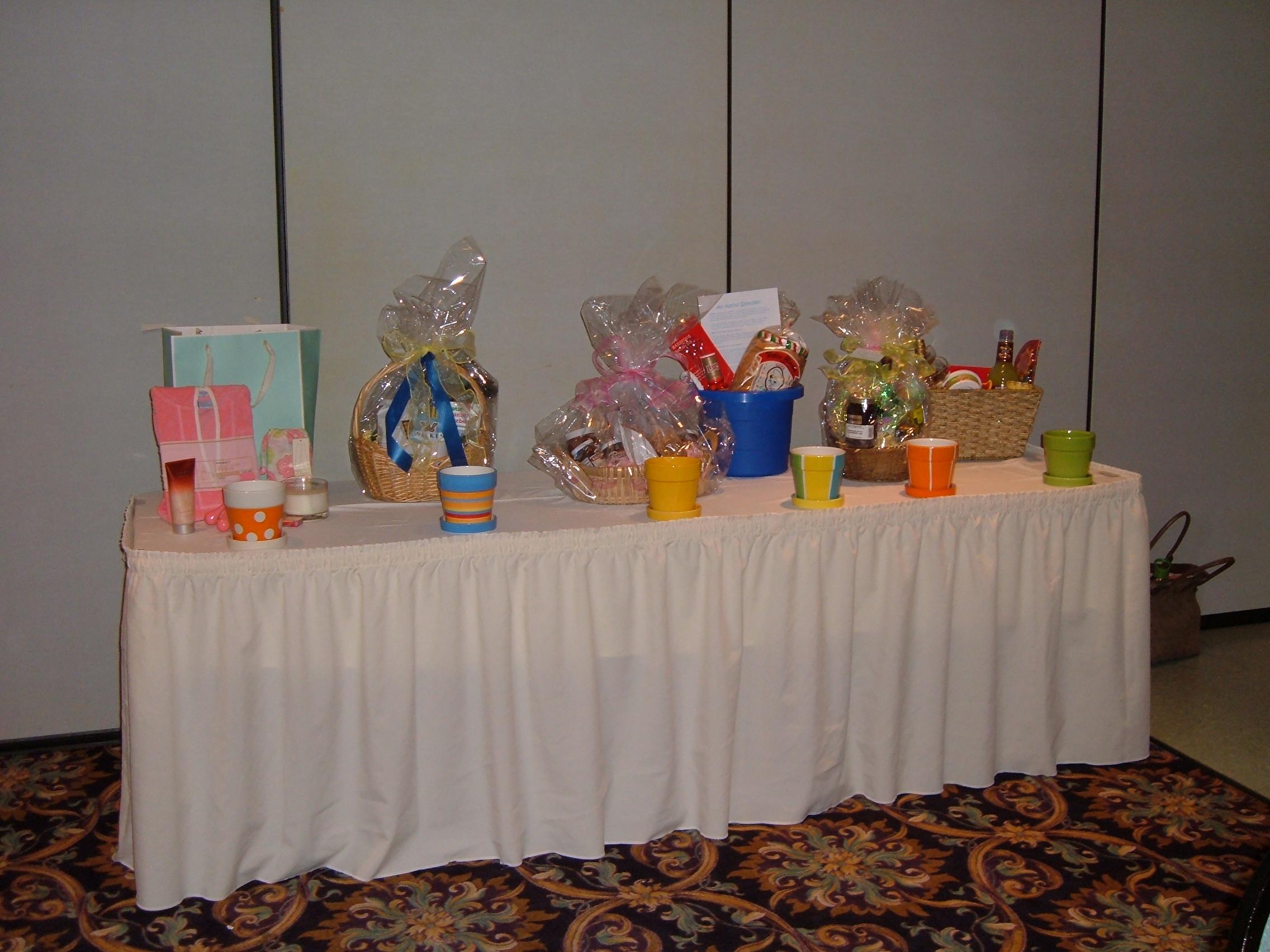 Gift Basket Table
