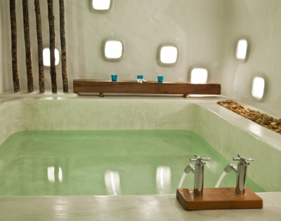A relaxing bath is a good sleep habit to have.