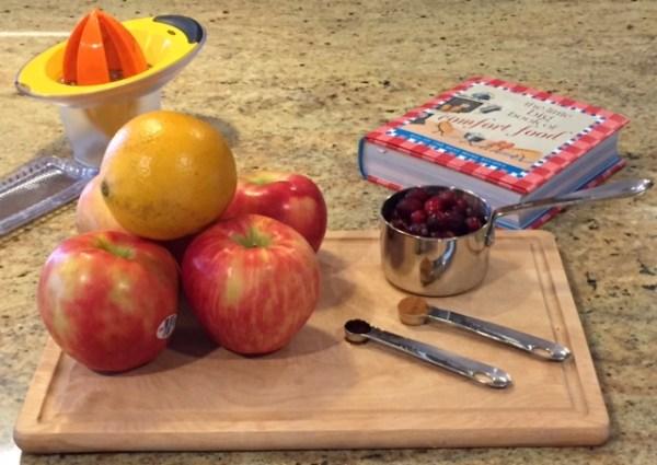slow cooker cranberry applesauce ingredients