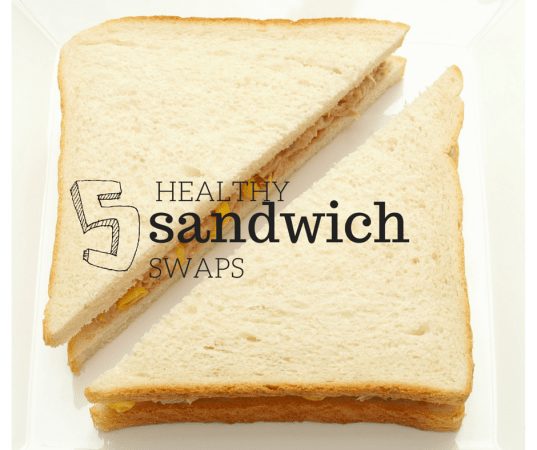 5 Healthy Sandwich Swaps @katieserbinski