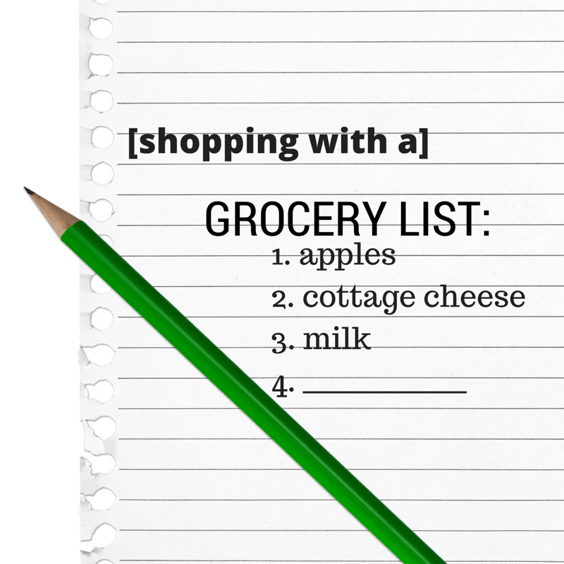 5 Reasons Why You Should Shop With A Grocery List @katieserbinski