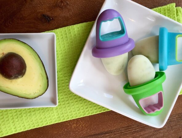 Avocado Ice Pops are made with simple ingredients like avocado, cottage cheese, and yogurt combined to make one tasty frozen treat.