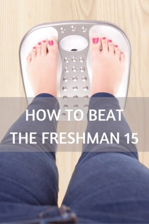 Gaining weight in college is a struggle many students have eating meals away from home. Learn how to beat the freshman 15 with practical tips for eating in the dorm or off campus!