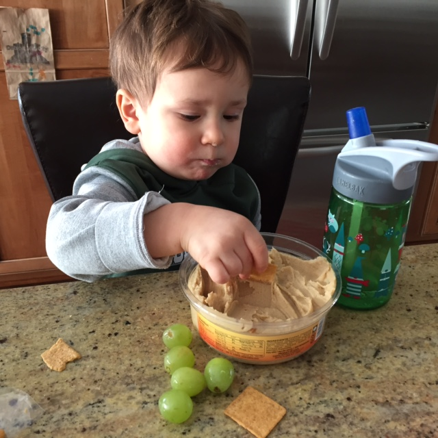 Feeding toddlers is one tough job… but somebody's gotta do it! Here are some truths to keep your sanity [and sense of humor] when it comes to feeding your little one.