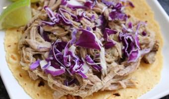 3-Ingredient Pulled Pork Tacos
