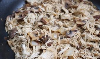Herbed Chicken and Mushroom Skillet
