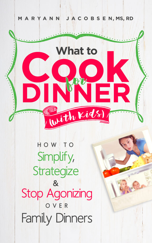 What to cook for dinner with kids e-book