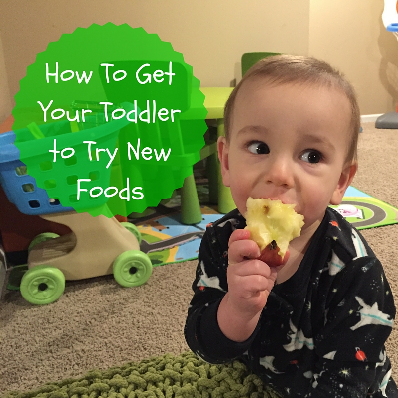 "How to Get Your Toddler to Try New Foods Getting your toddler to try new foods is no easy task! But have no fear… there a few tricks you can try to open their mouths and taste buds to new textures and flavors. I didn't realize the angst and stress that would come with feeding small children. I'll admit I was prepared for the sleepless nights, the teething, the ear infections, etc. But food? Heck! I love food. Ted loves food. How could we create children that decide they'd like to use food as toys?! The reality is you can't pick and choose your child's eating habits. But I've quickly learned that there's small victories in the grand scheme of feeding your picky eater. And that's getting them to TRY new foods. Try being the keyword here… because in order to get your kids [or husband or oneself] to like a food, they've got to try it first! Offer favorites with new foods. This trick is KEY for my boys. And usually [typing while knocking on wood] works when I give them their ultimate favorite food: yogurt! So IF there's a new food that I'd like them to pick up, sniff, and possibly put to their mouths, I give them their favorite ""side"" as the familiar food on their plate. Our go-to yogurt for the ""familiar trick"" is Chobani Tots Greek yogurt pouches. If the boys decide to skip trying the newbie, I'm comforted knowing they are getting a good source of protein and calcium with a little sweetness to satisfy their hunger. Another bonus: these pouches and their flavors are made without artificial sweeteners or preservatives. Something every person or parent can feel good about! Vary your child's favorite foods. What I really mean by this strategy is not to serve the same food twice in one day, or two days in a row. I ""stole"" this tip from a feeding expert and it's worked out well for us. While it might seem like you need to have all kinds of foods stocked in your fridge or pantry, well, you are right. That's doesn't mean you have to buy a lot of everything though. A green bell pepper in toddler serving size can last a few days. But once you try this strategy for a week or two you'll get into a rhythm and routine when it comes to buying those groceries. You can follow my weekly food prep [including these ""new foods"" on Instagram!]. Model healthy eating behavior for your children. Because I'm not much of a breakfast eater and my boys aren't much of dinner eaters, I find the best time for me to model healthy eating behavior is during snack time and lunch. From fresh fruits and vegetables to grilled sandwiches and melts, I'm always trying to change up our lunch and snack routine with new, healthy foods. And that includes new flavors and textures in our favorites, like Chobani Tots Greek yogurt AND the many varieties in their classic product line. With 25% less sugar and twice as much protein than other kids' yogurts, I don't mind the scuffle that ensues when the boys basically fight over who gets the last box of pouches! Let them get hungry. This is a hard one. Because sometimes it's just easy giving your kids something to munch on while you cook dinner or when you are at the doctor or church to prevent a meltdown. But if you can find another alternative [yes, we turn on the TV BEFORE dinner so prevents pantry perusing] then try to hold them off. A hungrier toddler is more likely to try new foods! Start small with new textures and flavors. Here's an example that recently worked with Joey: While he gobbles up the Chobani Kids Greek yogurt Apple flavor, he's not much of a fan of the raw deal, meaning a raw apple with skin ON. Realizing his love for this yogurt flavor and a little crunch in yogurt parfait's… I decided to combine the two! I chopped up a green apple, added it to the yogurt + some granola, and voila! He had an apple yogurt parfait. We shared the parfait together… and of course little bro gobbled it up. But the moral of this story [or tip] is to start small with new flavors and textures--- and perhaps serve it in a way that's new and exciting--- or familiar, like in my first tip! So there you have it! Some tips and tricks that have helped expand my toddler's palates beyond just Goldfish. Seriously… they could live off those things! Since this isn't my first rodeo feeding toddlers, I have a few other resources that might interest you: Tell me: What strategies do you use at home to get your toddlers [or any child] to try new foods?!"