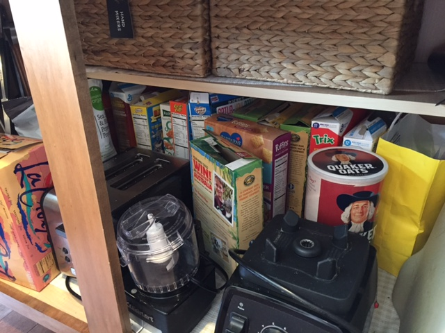 Don't judge out cereal cupboard please. I BEG YOU!
