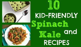 Get your kids excited about eating healthy greens by trying one of these 10 kid-friendly spinach and kale recipes!