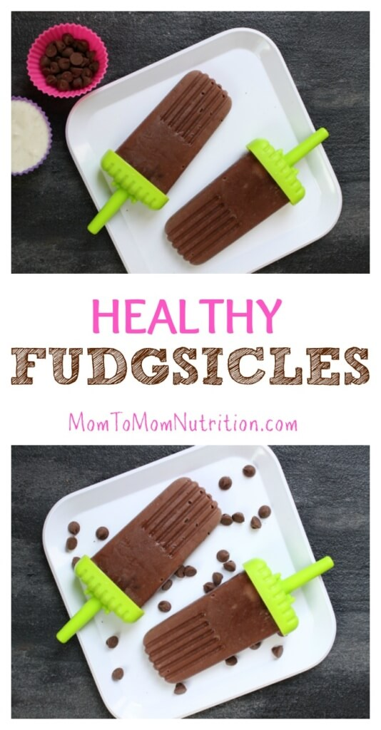 Homemade Fudgsicles are made with simple store-bought ingredients and packed with tons of flavor thanks to chocolate pudding and Greek yogurt!