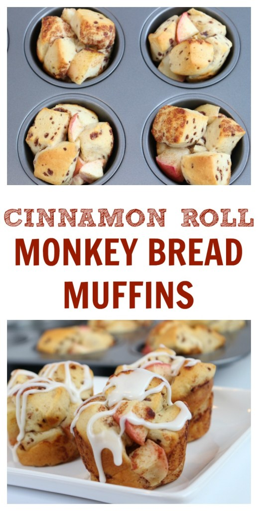 With just two ingredients, these mini monkey bread muffins are baked in a muffin tin pan and make the perfect sweet treat at breakfast, brunch, or dessert!