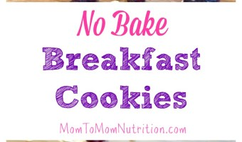 Not a breakfast eater? These no bake breakfast cookies will change that! The combination of peanut butter, chocolate, and oatmeal make breakfast tasty!