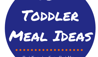 50+ Toddler Meal Ideas meant to inspire you in the kitchen and your toddler at the table! This FREE PDF resource has recipes and accompanying images of healthy meals the whole family can enjoy, specifically toddlers!