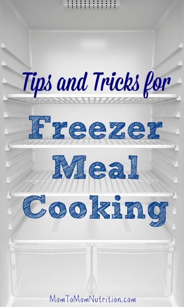 how to cook freezer meals
