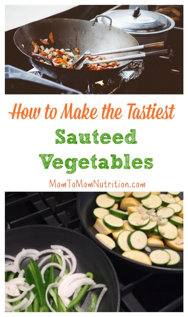 "Learn the basics on ""how to sauté vegetables"" with this interactive video + tips and trick to make your sautéed vegetables even tastier!"