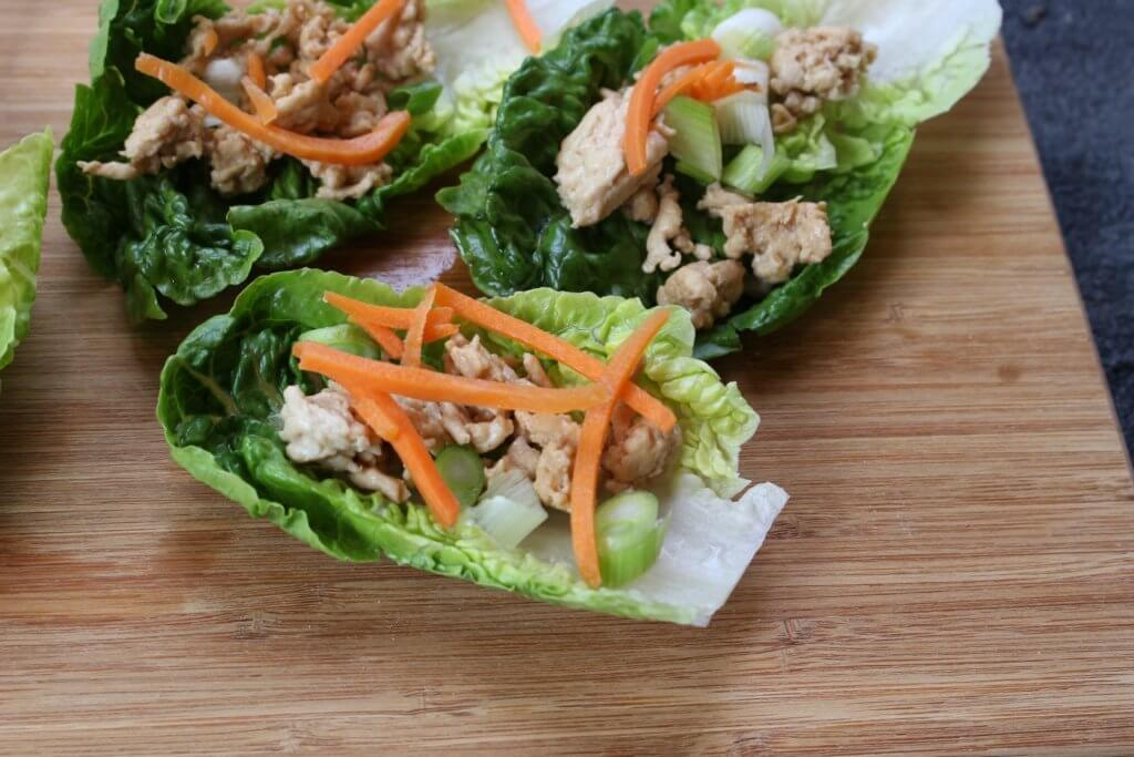 Asian Chicken Lettuce Wraps is a fresh copycat recipe, just as good as the PF Chang's version and made in just 20 minutes at home!