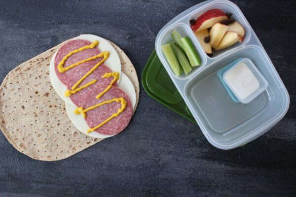 Need a little variety in your school lunch packing routine? Change up your weekday wrap sandwich with one of these mix and match recipes!