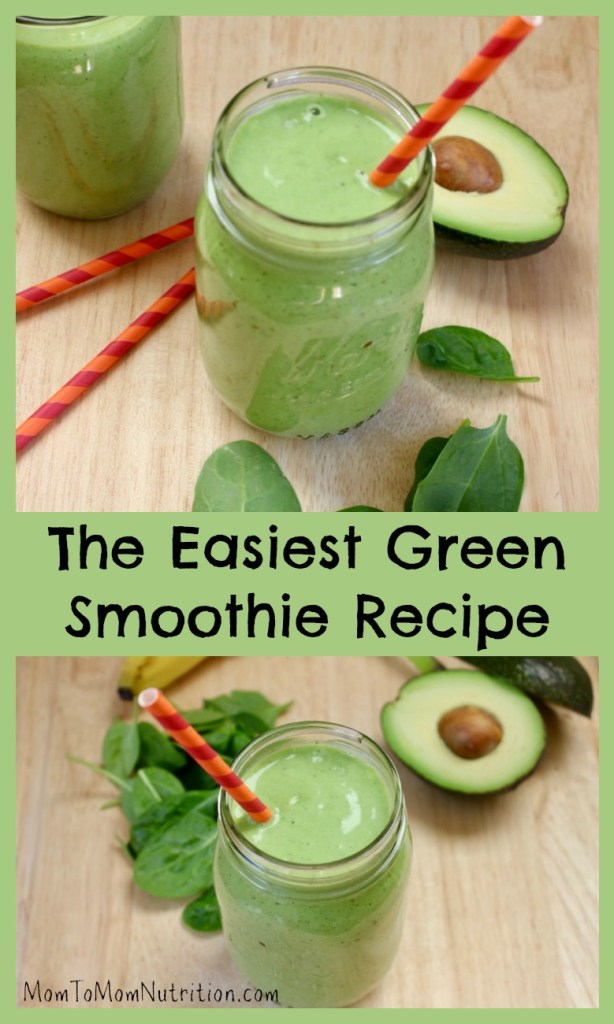 This easy green smoothie recipe requires just five ingredients and is extra creamy and nutritious with the addition of Hass Avocados!