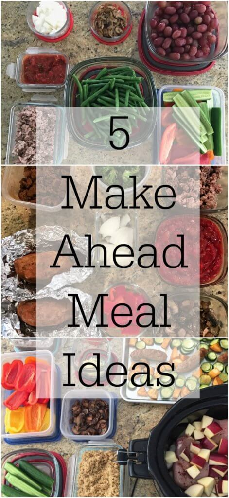 Turn to these make ahead meal ideas when you're feeling short on time for a healthy weeknight meal! Simply just reheat and eat!