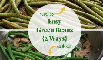 Depending on which way you make them, these easy green beans recipes are simple enough for any weeknight meal or holiday feast!