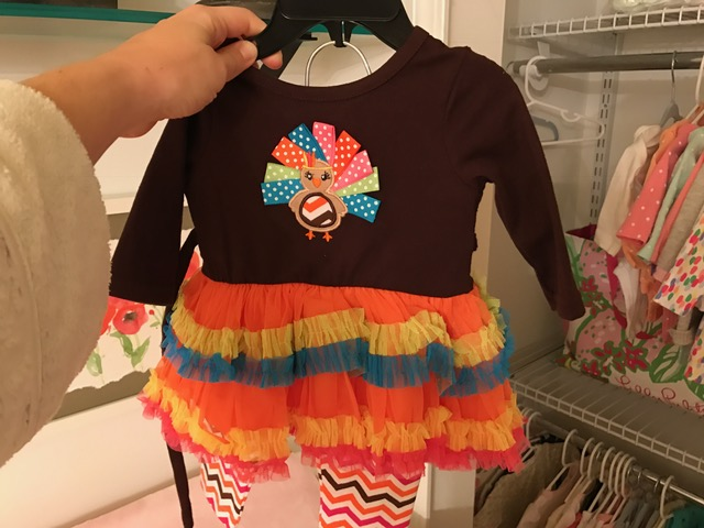 I can't wait for my little turkey to wear this!
