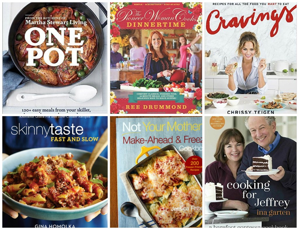 Looking for the perfect gift for a foodie friend? Check out a few of these cookbooks to give as gifts!