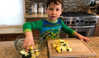 How Toddlers Can Help in the Kitchen