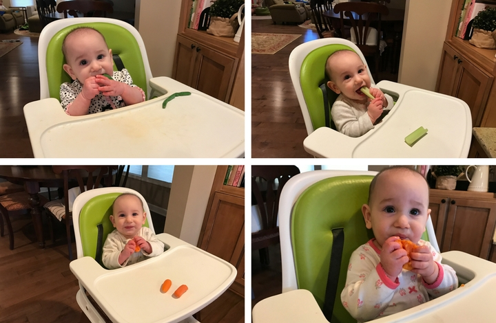 Here's a simple list to get your started on appropriate finger foods for babies and toddlers. Helpful for those feeding children of different ages at home!