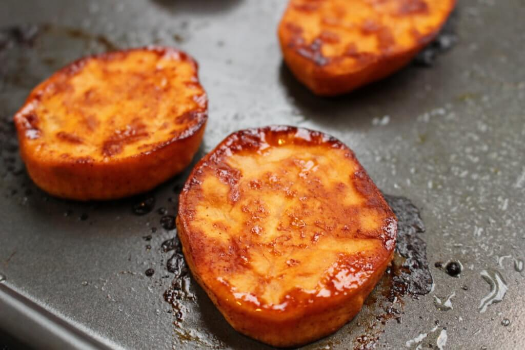 Roasted Sweet Potato Rounds Mom To Mom Nutrition