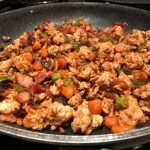 Ted's Habanero Turkey Bacon Stir Fry