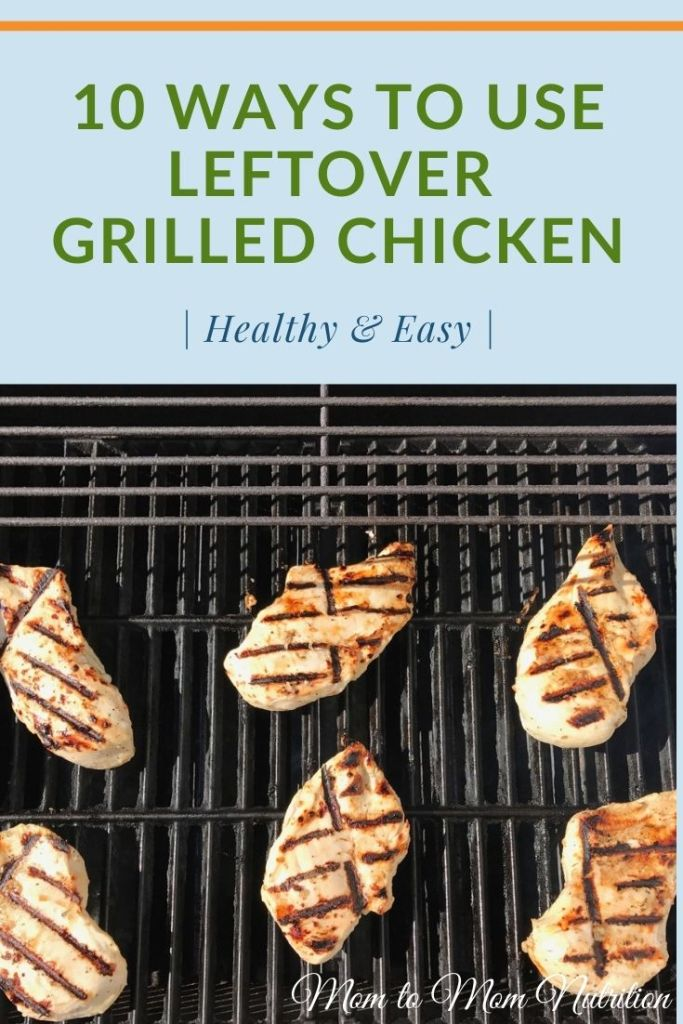 Who says leftovers can't be delicious AND convenient?? Repurpose those grilled chicken into one or more of these quick, delicious meal ideas! #waystouseleftovergrilledchicken #waystouseleftoverchicken #mealprepchickenideas #mealprepchickenrecipes #grilledchickenrecipeshealthy #grilledchickenrecipeseasy