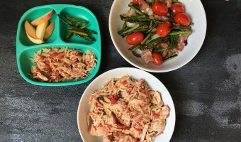 Slow Cooker Pizza Chicken with Orzo