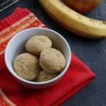 Applesauce and Banana Muffins