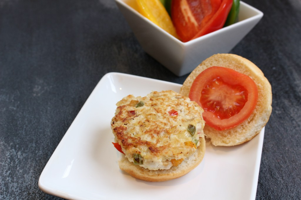 Tri-Colored Turkey Burgers - Mom to Mom Nutrition