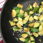 Easy 10-Minute Parmesan Zucchini is one healthy side that pairs well with any main dish. All you need is 4 ingredients, 10 minutes, and one hot skillet!