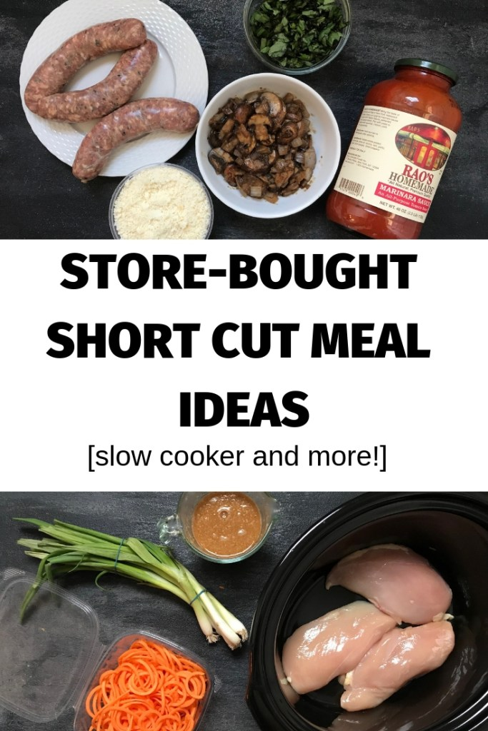 Get dinner on the table in no time with a few store-bought dinner shortcuts!