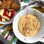 Apple Butter Hummus is a sweet and savory dip perfect for an after-school snack, lunchbox treat, or a spread for any event needing a quick and delicious appetizer.