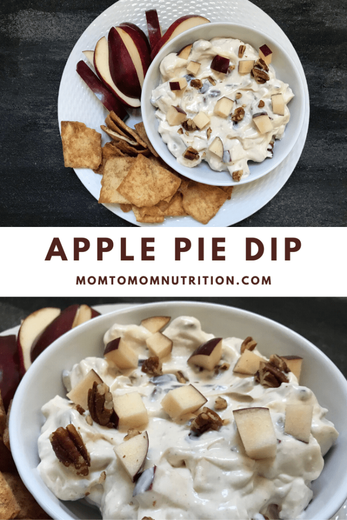 Homemade Apple Pie Dip has all the flavors, spices, and apple goodness found in a baked apple pie, but in a delicious dip form! Just in time for apple season and fall gatherings.