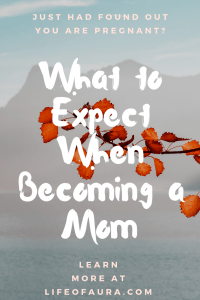 Everything is new to you when you are becoming a first time mom. Learn what you should be expecting at momwhoraves.com. #mom #whattoexpect #motherhood #pregnancy