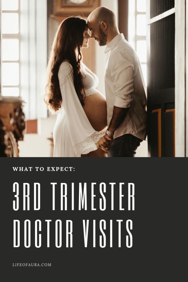It's the 3rd Trimester of Pregnancy, but what do you need to know for doctor visits? #pregnancy #doctorvisits #3rdtrimester