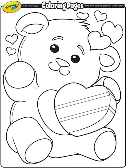 Free Printable Valentine S Day Coloring Pages For Kids