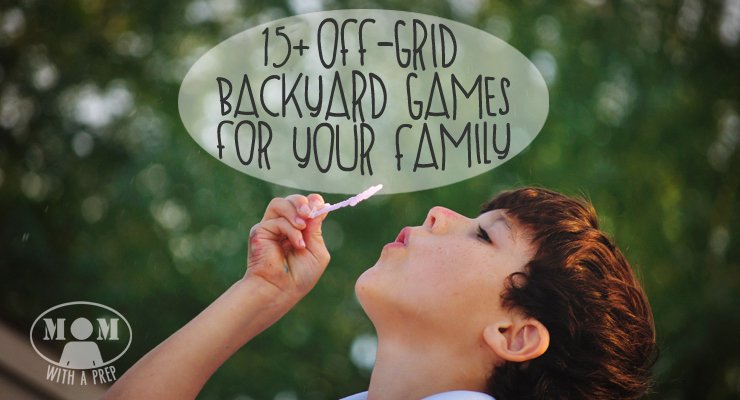 15+ awesome DIY, off-grid backyard games to play -- I can't wait to try them out with my family!