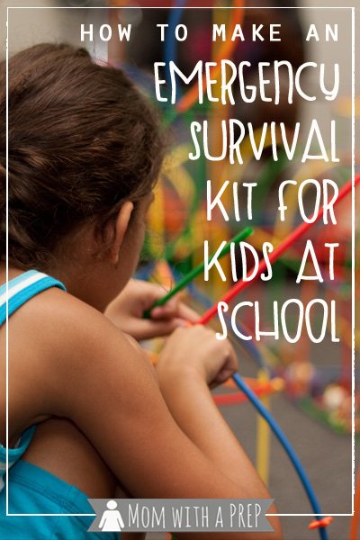 Learn how to create an emergency survival kit for your child in case of an emergency while in school and you can't be there to help them ...