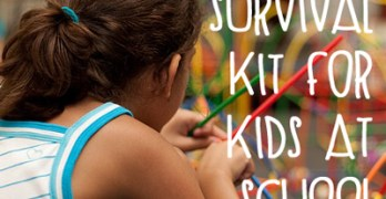 How to Make an Emergency Survival Kit for Kids at School