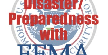 Learning about Emergency Preparedness with FEMA