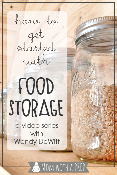 Wendy DeWitt is known all over for her Food Storage Seminar - and it's definitely worth a watch if you're just beginning to get interested in long-term food storage. Some of the audio is a big wonked, but just adjust your speakers to make it work for you.